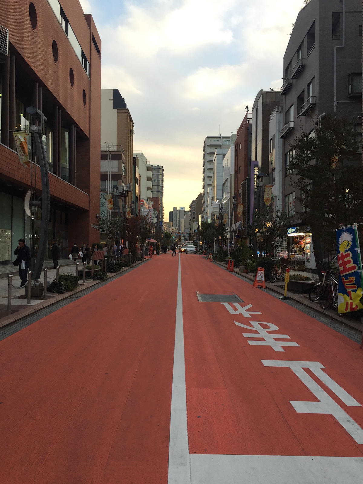 Tokyo Travel Guide Orange Road