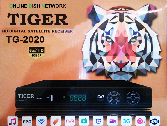 TIGER TG 2020 HD RECEIVER POWERVU KEY NEW SOFTWARE 2019