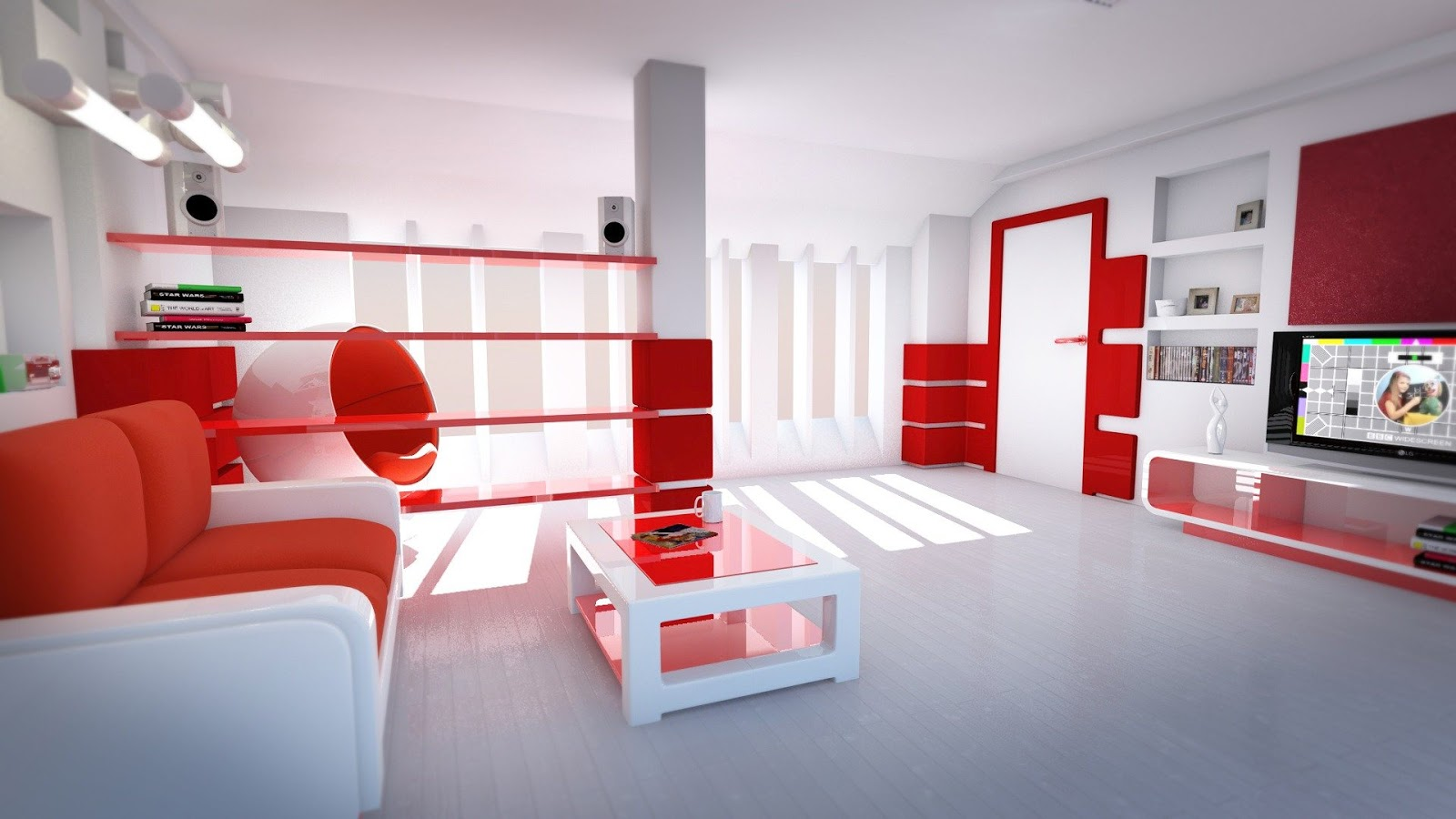 Dwell Of Decor Interior Design Red Color Schemes