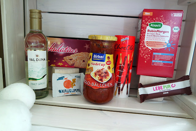 Unboxing Lebensmittelbox