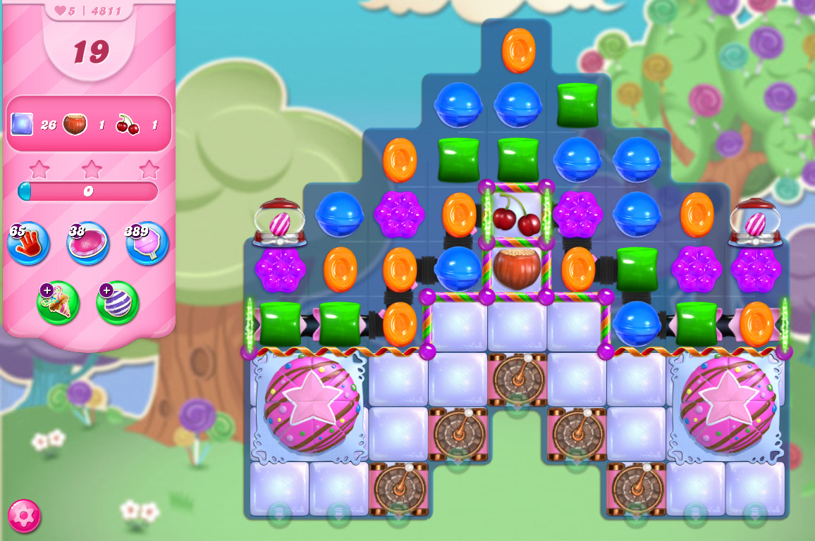 Candy Crush Saga level 4811