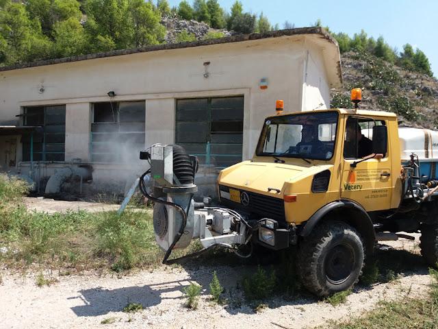 Σωτήρια επέμβαση της εταιρείας «Vetery» για την καταπολέμηση των κουνουπιών στο Ναύπλιο