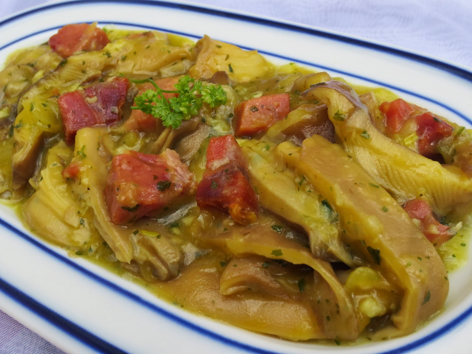 Setas a la importancia Ana Sevilla cocina tradicional