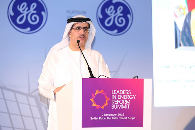 MD & CEO of DEWA highlights DEWA's efforts to increase clean energy use at MEED Leaders in Energy Reform Summit