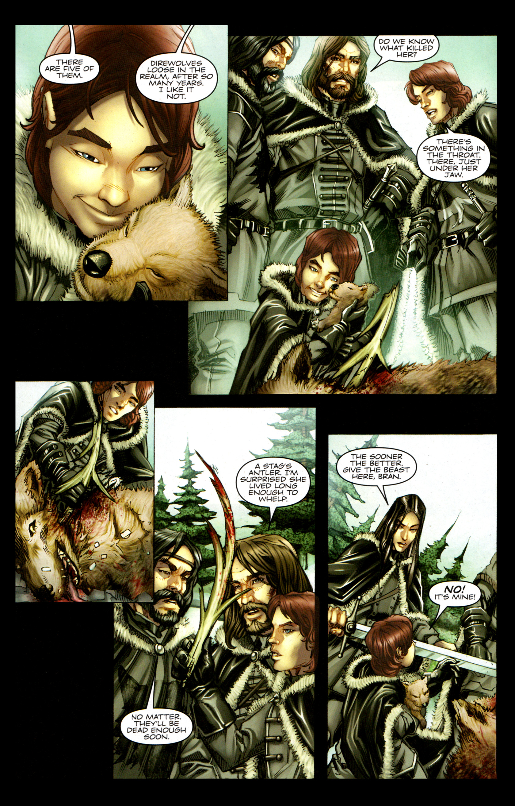 Read online A Game Of Thrones comic -  Issue #1 - 15