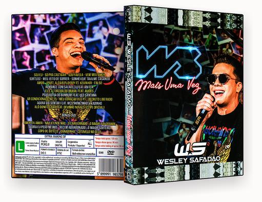 CAPA DVD – Wesley Safadão WS Mais Uma Vez – ISO