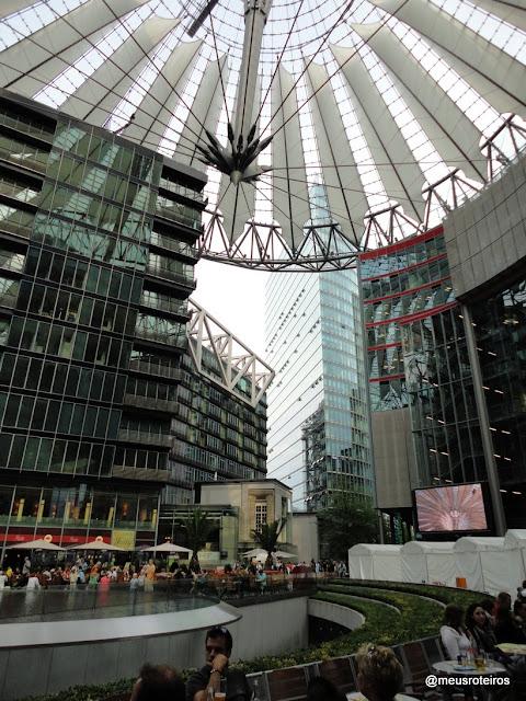 Sony Center / Postdamer Platz - Berlim