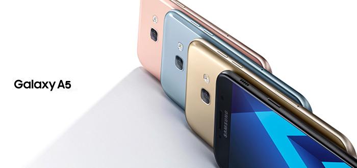 Samsung Galaxy A5 (2017) Ya Tiene de Android 7.0