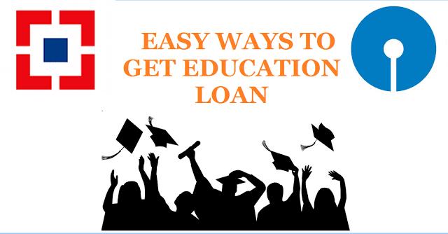 Bank Loan for education, SBI education Loan, HDFC Education loan