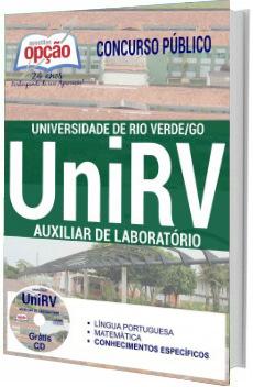 Apostila UNIRV 2017 Auxiliar de Laboratório