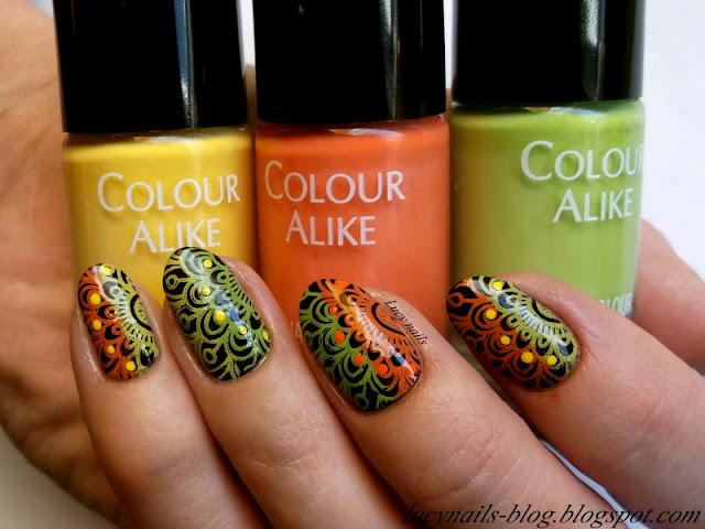 Lakiery do stempli Colour Alike