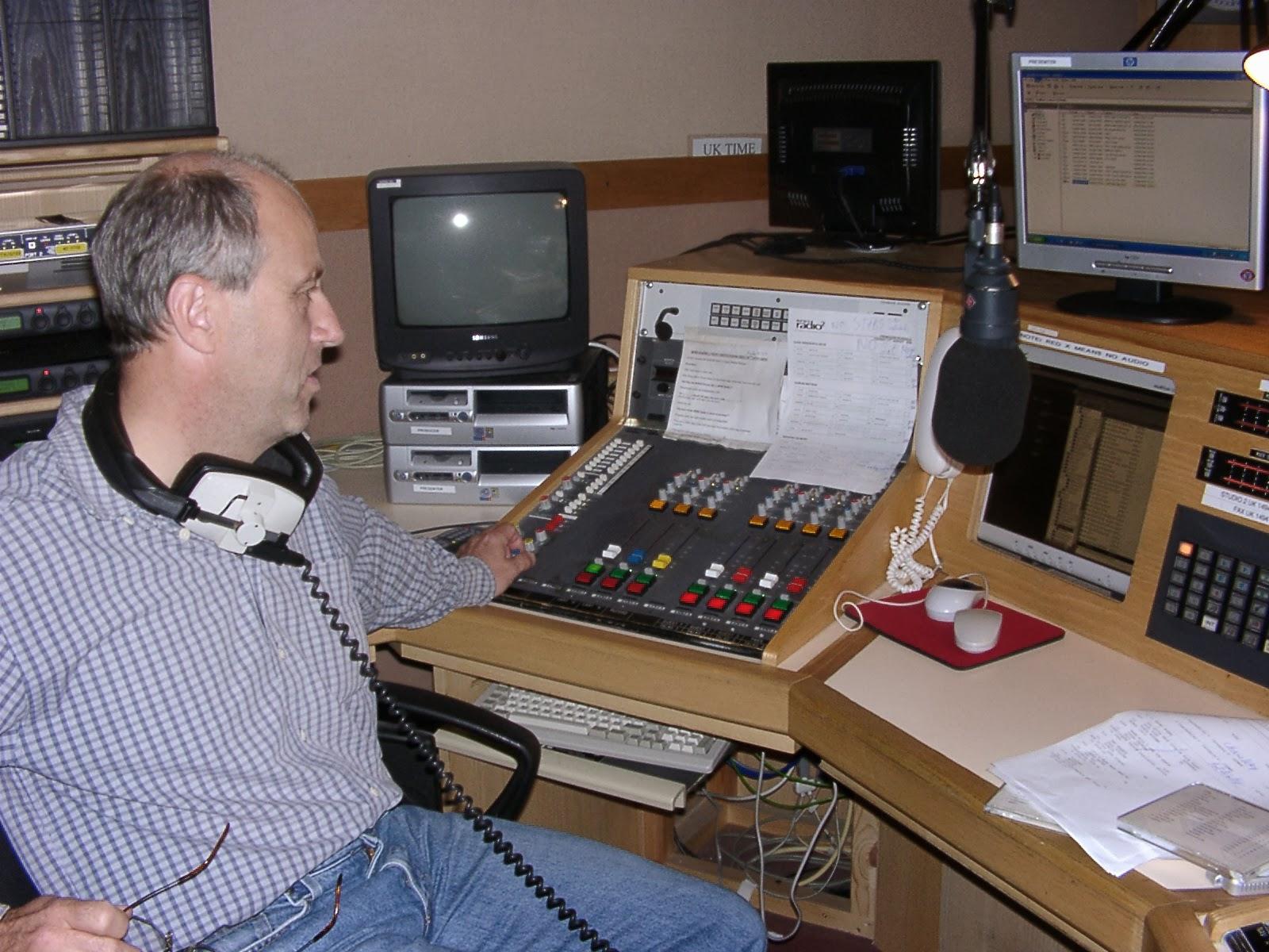 Dave Windsor At Bfbs Radio London