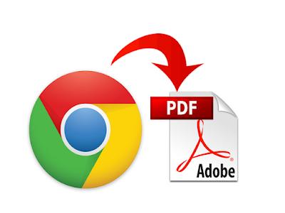 save a Web page to PDF