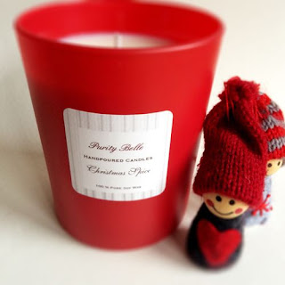 Christmas Spice Soy Candle by Purity Belle Candles