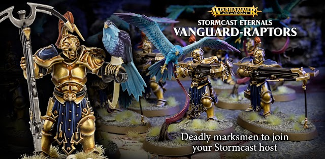 New Today From Games Workshop: Vanguards Raptors, the Cadian Defense Force, and More