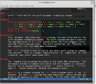 Colorful man pages in Arch Linux