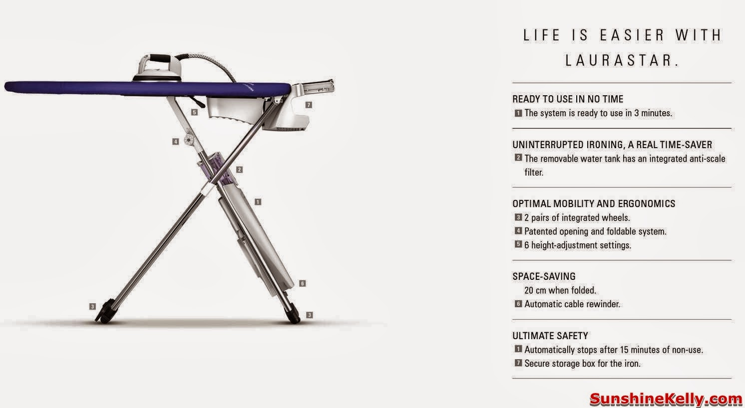 Laurastar, Laurastar Iron, Laurastar Lift, Laurastar Pulse, Make Life Wonderful, Easy Ironing