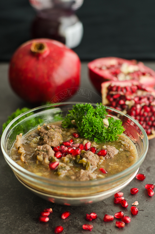 Persian Pomegranate Soup
