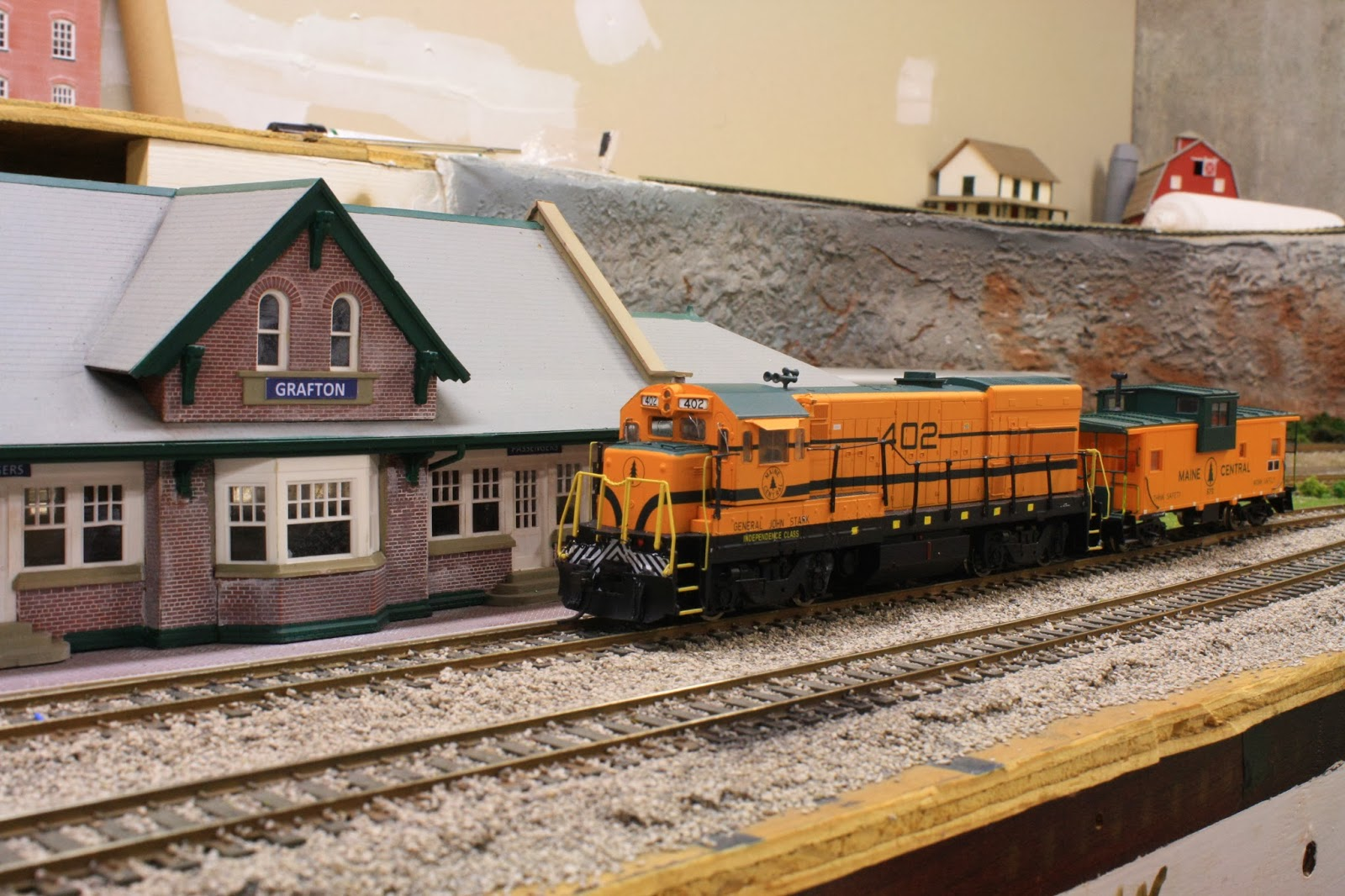 Maine Central Railroad Grafton Branch On The Work Bench