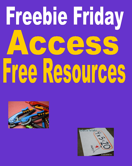 http://literacymathideas.blogspot.com/2016/02/freebie-friday.html