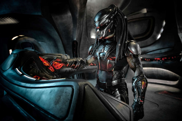 The Predator, science fiction movie, alien action movie, Movie Review by Rawlins,  Rawlins GLAM