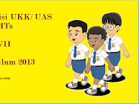 Kisi Kisi UKK SBK Kelas 7 Kurikulum 2013