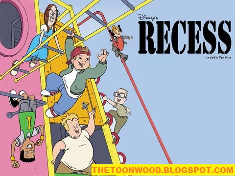"Watch Online And Download Disney Channel All Time Favoutit Show Cartoon Episodes ""DISNEY'S RECESS "" Hindi Episodes Only On TOONWOOD"