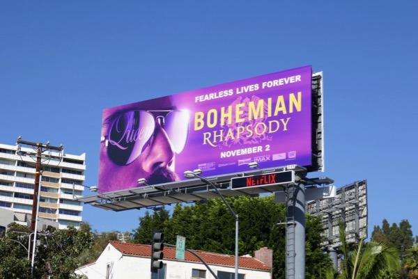 Bohemian Rhapsody billboard
