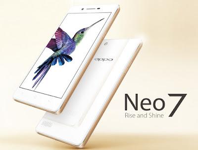 gambar harga hp Oppo neo 7