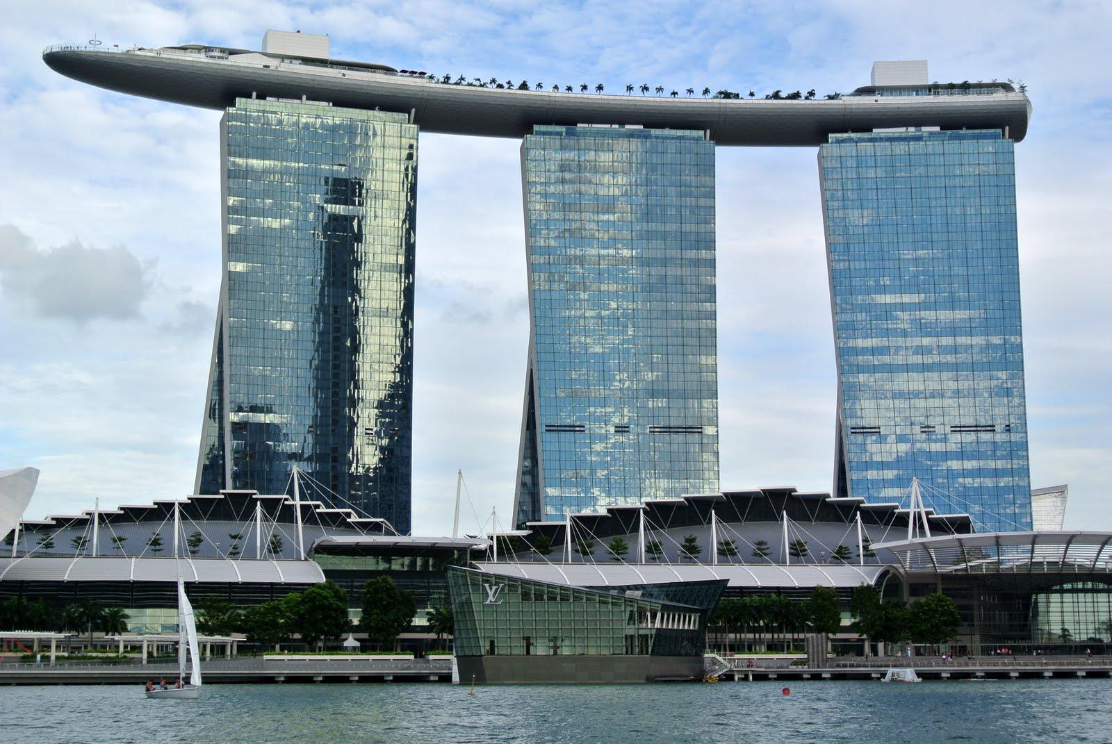 Hotel Singapur Pool Auf Dem Dach