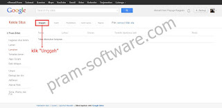 Unggah di Google Sites