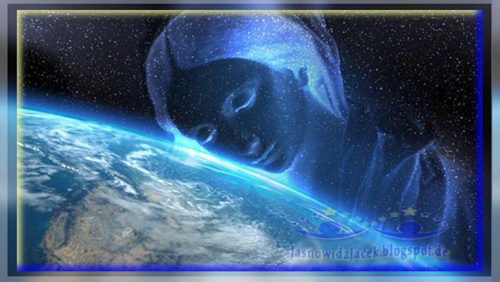 Matka Natura planeta Ziemia Noc