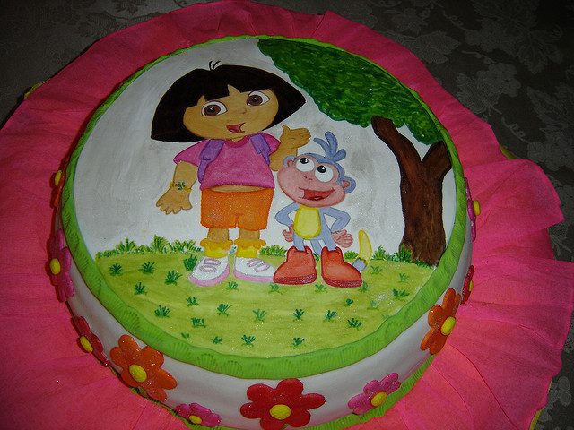 Family Crafts And Recipes How To Be Super Mom Dora Birthday Cake Ideas