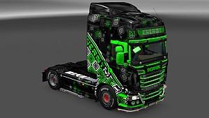 Scania RJL Energy Skin