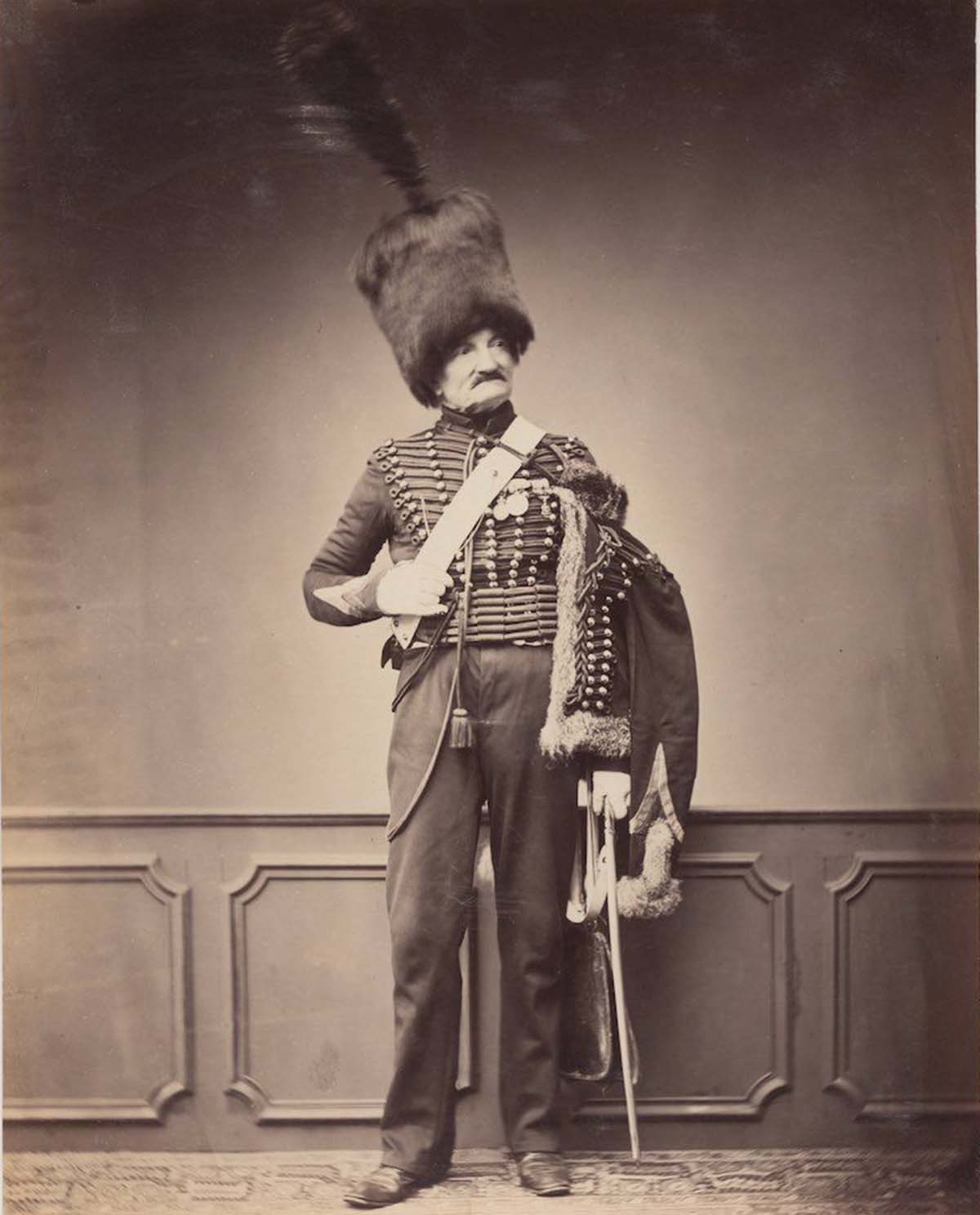 Monsieur Maire of the 7th Hussars circa 1809-1815.
