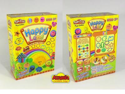 Fun-Doh Happy Land, fun doh indonesia, fun doh surabaya, distributor fun doh surabaya, grosir fun doh surabaya, jual fun doh lengkap, mainan anak edukatif, mainan lilin fun doh