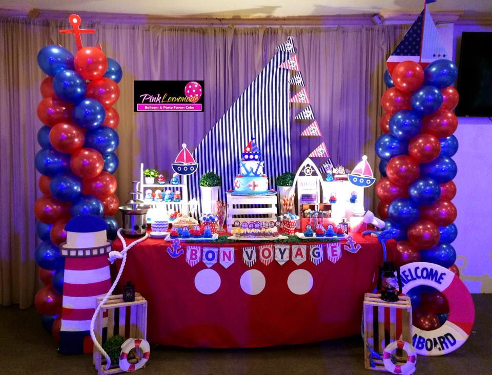 Pink Lemonade Balloons And Party Favors Cebu Nautical