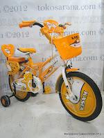 2 Sepeda Anak Kasea 0916 Sport 08 16 Inci