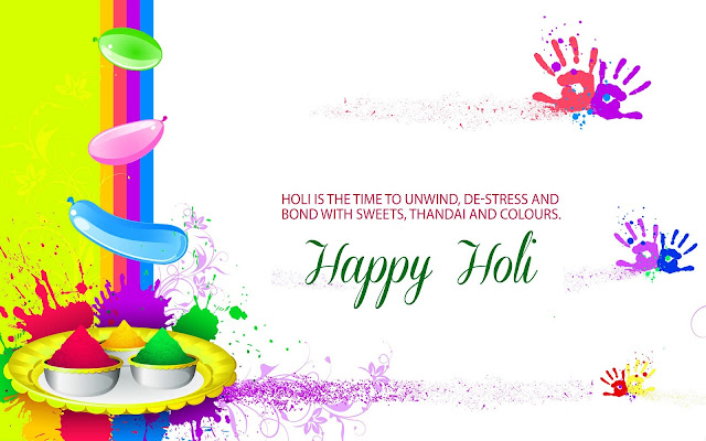 Happy Holi Images With Quotes