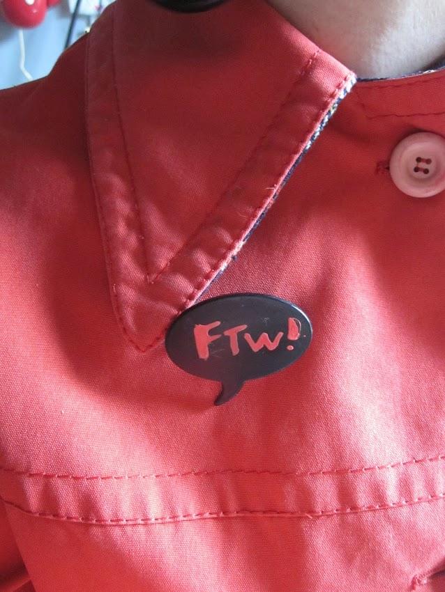 bubble comic brooch ftw
