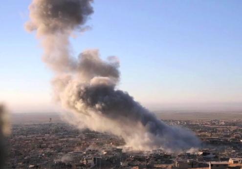 us airstrikes isis camps libya