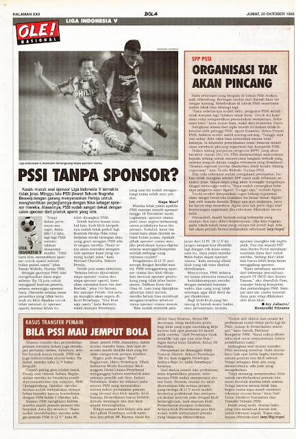 LIGA INDONESIA V PSSI TANPA SPONSOR