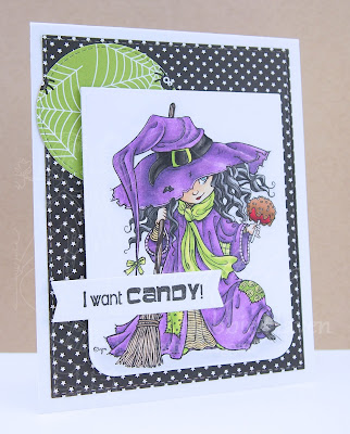 Heather's Hobbie Haven - Just for Fun Saturday - Candy Apple Witch