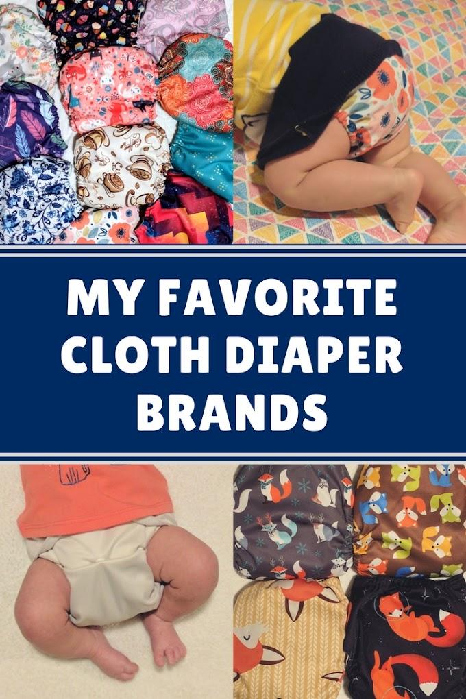 My Favorite Cloth Diaper Brands