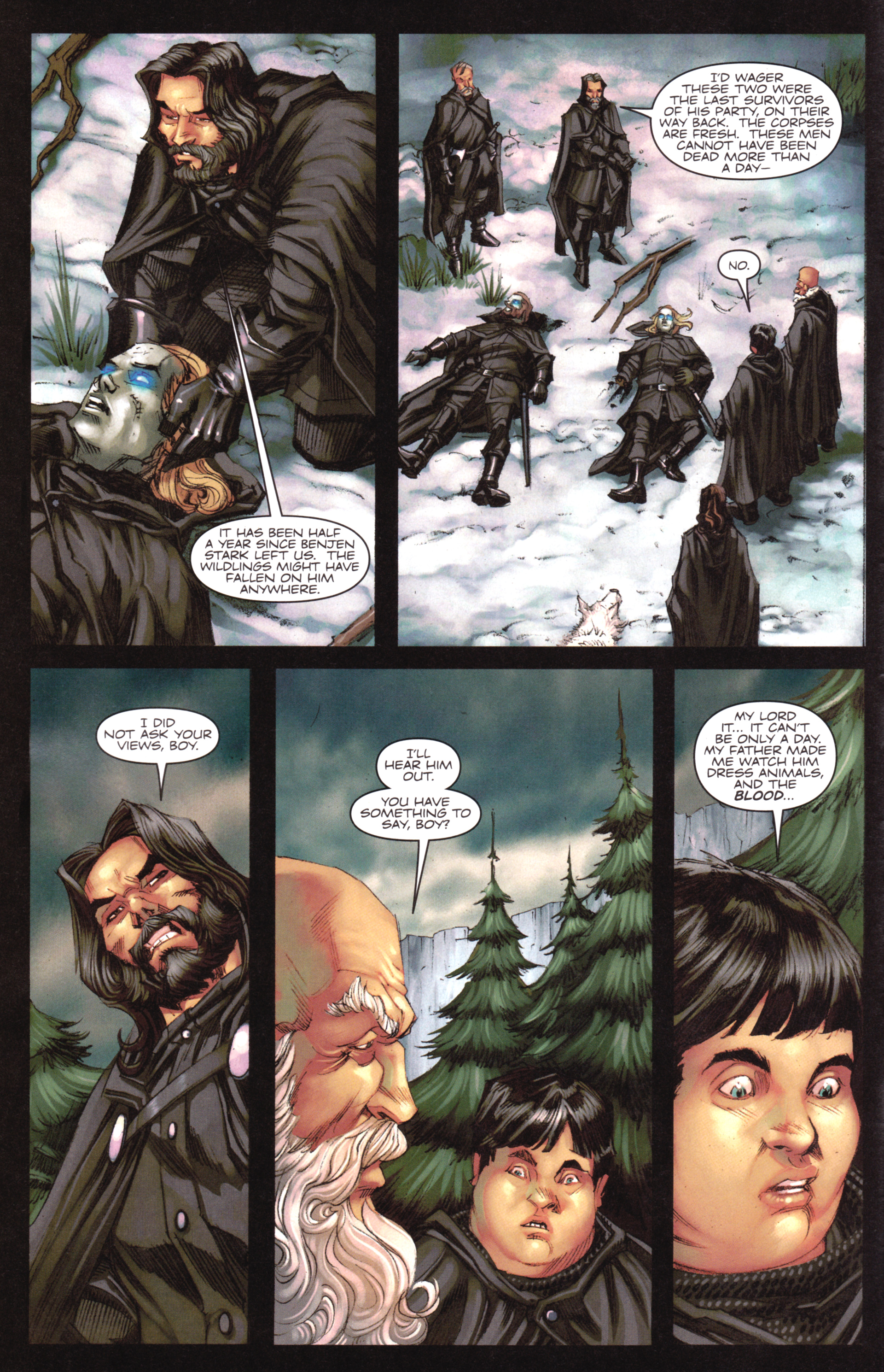 Read online A Game Of Thrones comic -  Issue #17 - 4