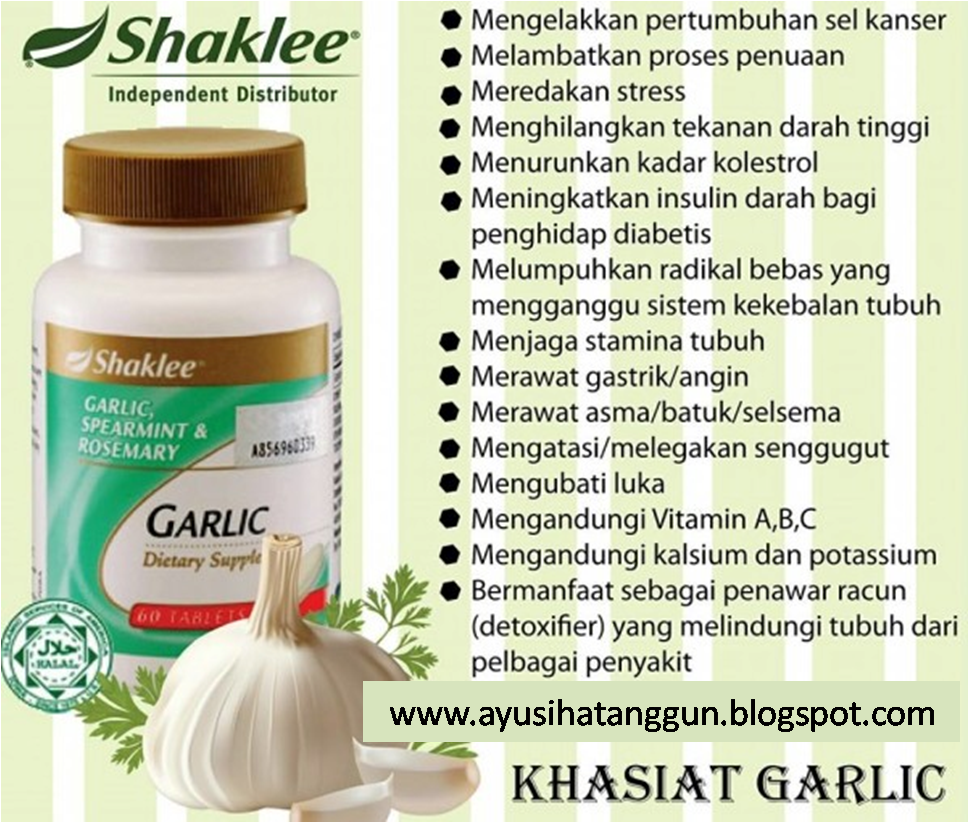 Manfaat Garlic Complex