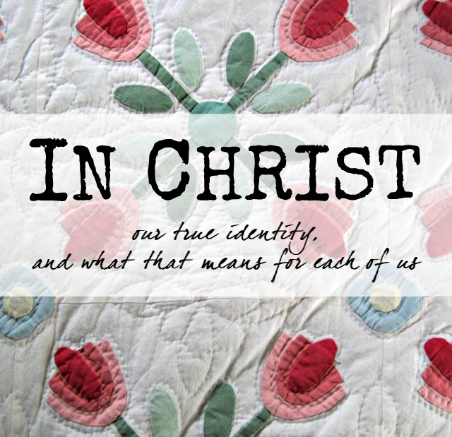 in christ our true identity and what that means devotion