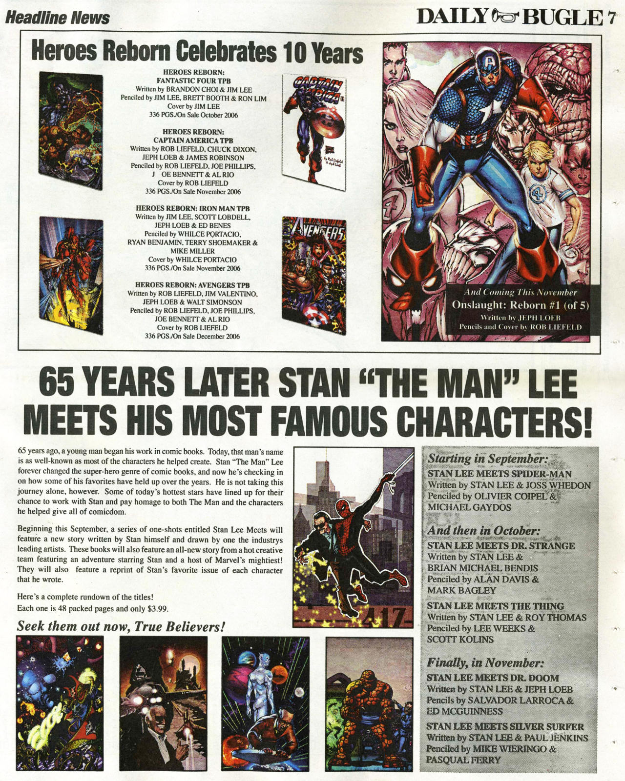 Read online Daily Bugle (2006) comic -  Issue #1 - 7