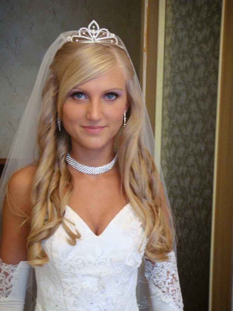 Sensational Wedding Hairstyles With Tiara 2014 Hairstyle Trends Hairstyles For Women Draintrainus