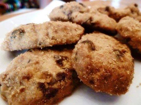 resepi kuih raya chocolate chip hershey cadbury